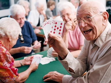 Image result for bridge game old people playing